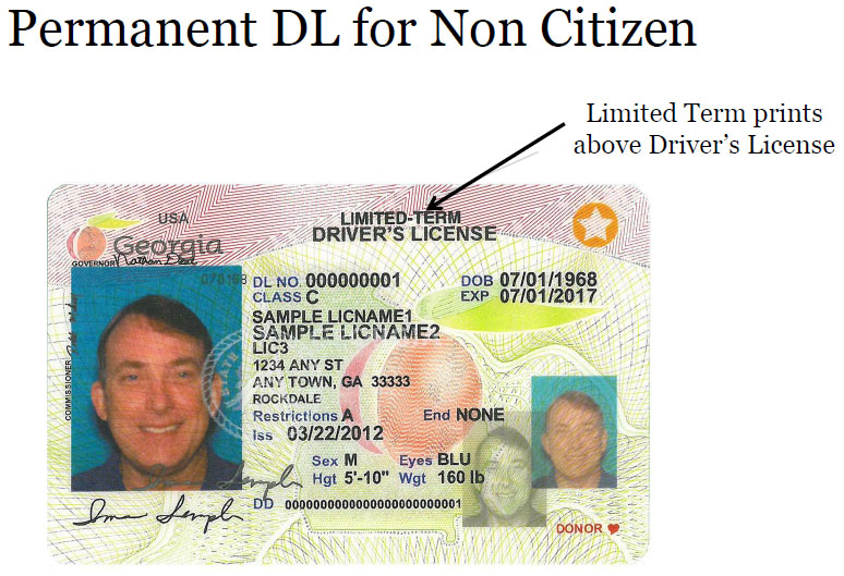 non commercial drivers license georgia