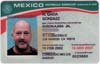 D.A. King's Mexican Matricula Consular ID card