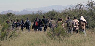 Illegal aliens entering your children's future in Cochise