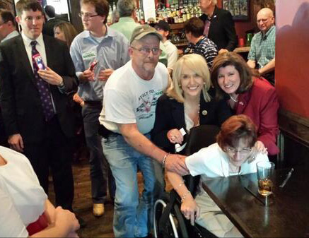 Inmans with AZ Gov. Brewer